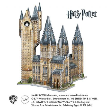 Harry Potter - Hogwarts Astronomy Tower 3D Puzzle (875pc)